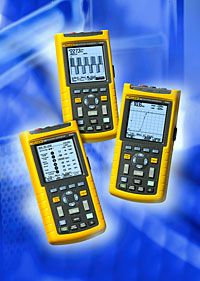 FLUKE Scopemeters- 123, 124,125 Series