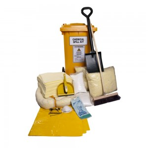 Petrazorb Wheelie Bin Spill Kits Harsh Acids & Chemicals