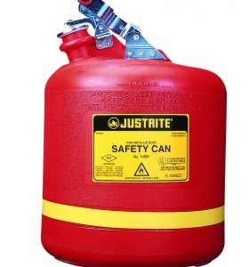 Christensen 19 ltr Polythylene round Safety Can