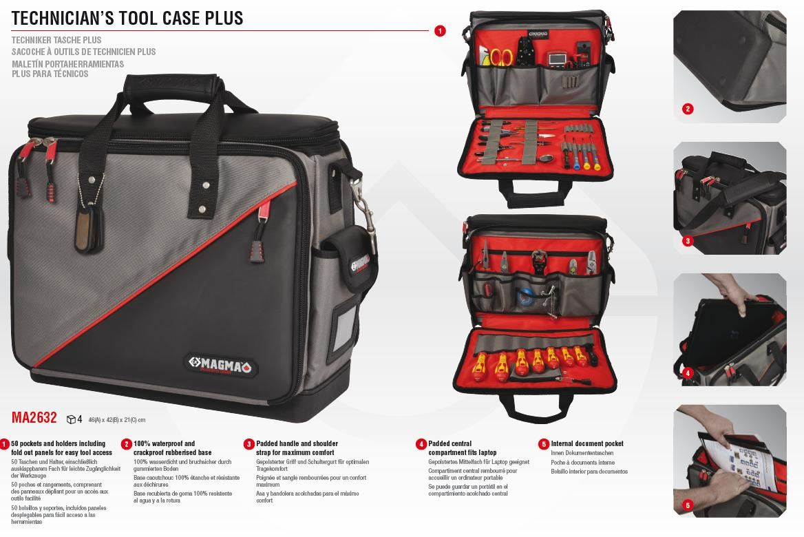 Saftec Gt Toolkits Amp Cases Gt C K Magma Toolbags Belts