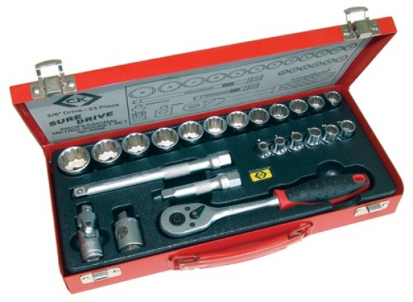 C.K. Socket set - 23 Piece 3/8