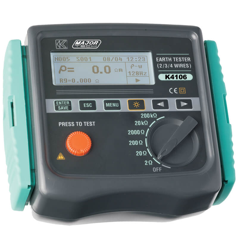 Major Tech Earth Resistivity and Resistance Tester
