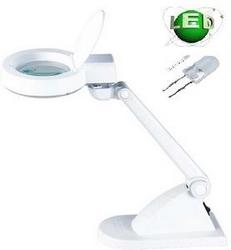 Techmaster MAGNIFICATION LAMP - LED X 3 & X 8, TABLE TOP SMAL
