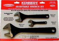 Kennedy SHIFTING SPANNER SET - 3 PIECE