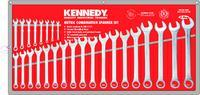 Kennedy SPANNER SET - 25 PIECE 6-32MM COMBINATION