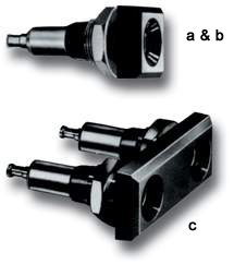 MULTI-CONTACT 4mm universal laboratory sockets & mounting to