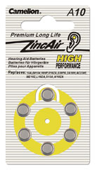 Major Tech 1.4V Hearing Aid (6 pce Blister)