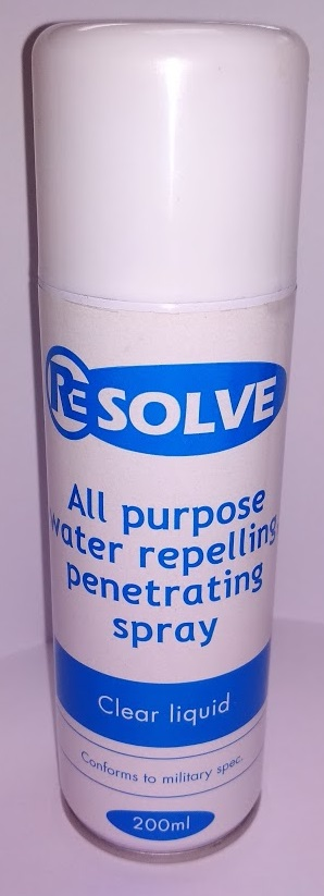 Resolve All purpose water repelling, penetrating spray