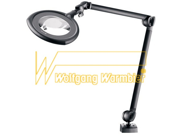 Wolfgang Warmbier TEVISIO LED magnifier, mounting arm 784 mm ESD