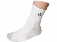WARMBIER ESD-Line Socks, white/grey