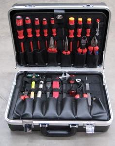 Techmaster MASTER ELECTRICIANS TOOLKIT IN ABS PLASTIC CASE -