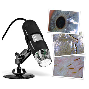 Christensen Veho Discovery USB Deluxe Microscope (400x Magnif