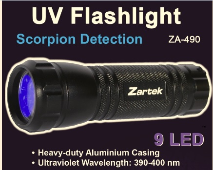 ZarteK UV torch Flashlight